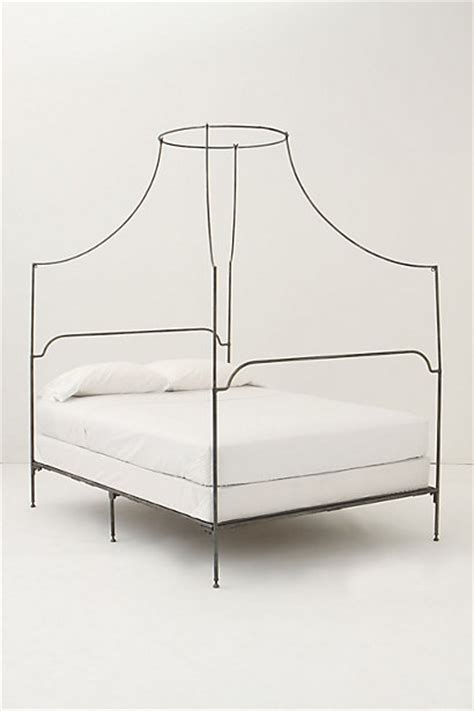 italian canopy bed italian caign canopy bed anthropologie com