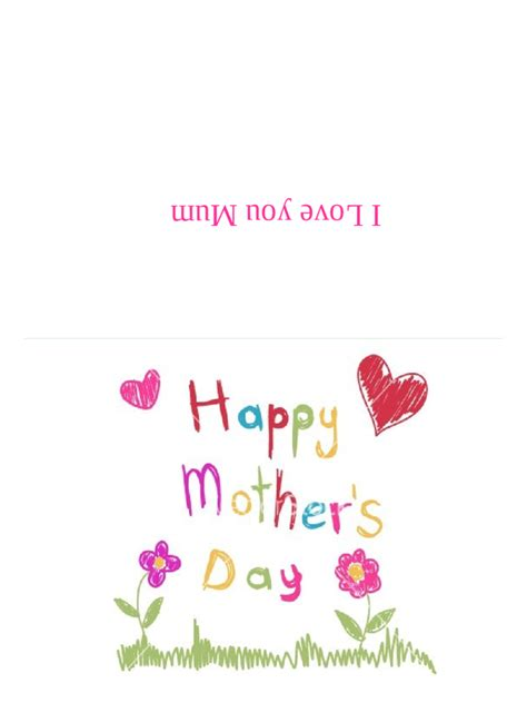 mother s day card templates 2 free templates in pdf