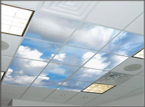 Cloud Ceiling Panels Artfiberglass Custom Ceiling Light Lens Covers