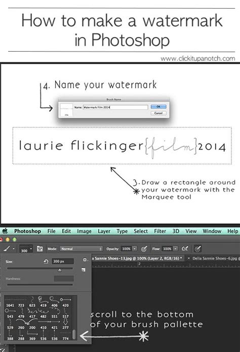 membuat watermark di photoshop lightroom how to make a watermark in photoshop