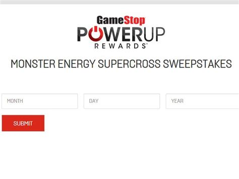 Gamestop May The 4th Sweepstakes - gamestop powerup rewards monster energy supercross sweepstakes