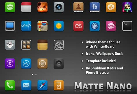 themes for icons on iphone free icon sets themes for your iphone