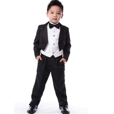 Dress Bobo Anak 2t 5t 1 5pcs set new winter new tuxedo suit boys blazers