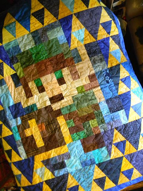 zelda quilt pattern legend of zelda quilt it s dangerous to nap alone take