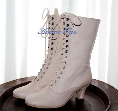 White Wedding Boots by White Wedding Shoes Ivory Boots Shoes