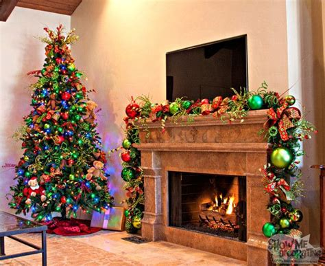 somple kids themd christmas trees in muti colors 17 best images about decorating ideas on trees mantles