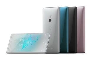 the full palette of sony xperia xz2 and xz2 compact colors