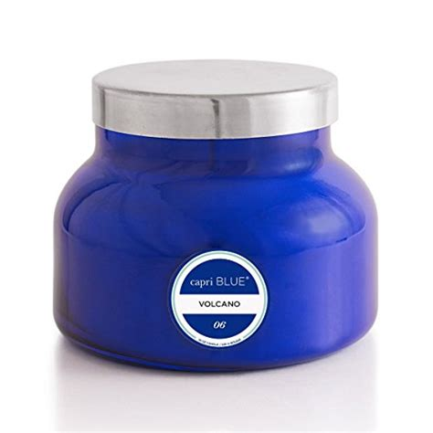 Aspen Bay Blue Candle Volcano by Aspen Bay Jar Volcano Candle 19 Ounce Blue