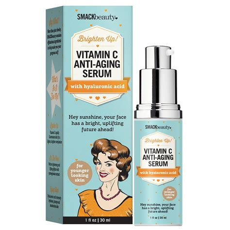 Review Renewance Anti Aging Chemical Peel by Smack Vitamin C Anti Aging Serum 1oz 30ml