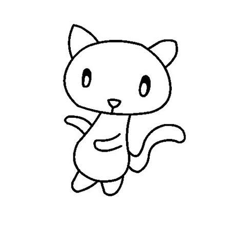 imagenes de perros kawaii para colorear desenho de o gato para colorir colorir com