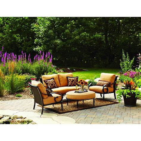 Patio Cushions For Better Homes And Gardens Furniture Better Homes And Gardens Englewood Heights 4 Outdoor