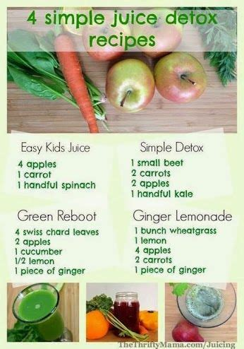 Easy Detox Juice by 4 Easy Simple Juice Detox Recipes