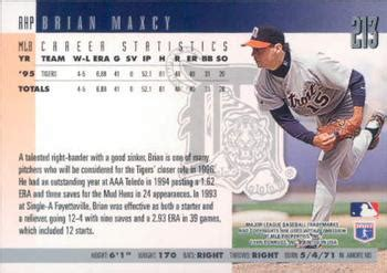 Brian Maxy brian maxcy gallery 1996 the trading card database