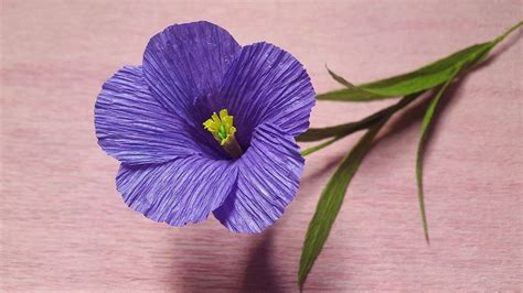 lavender paper flower tutorial how to make purple tuberose paper flowers flower making