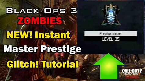 tutorial zombies black ops 3 black ops 3 zombies new instant master prestige glitch