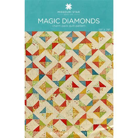 Missouri Quilt Company Daily Deal by Magic Diamonds Pattern Msqc Missouri Quilt Co