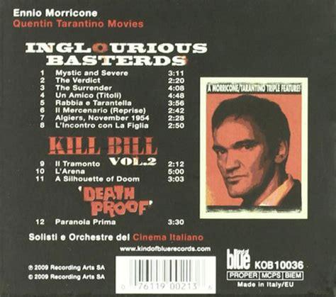 quentin tarantino film memorabilia ennio morricone quentin tarantino movie scores kill