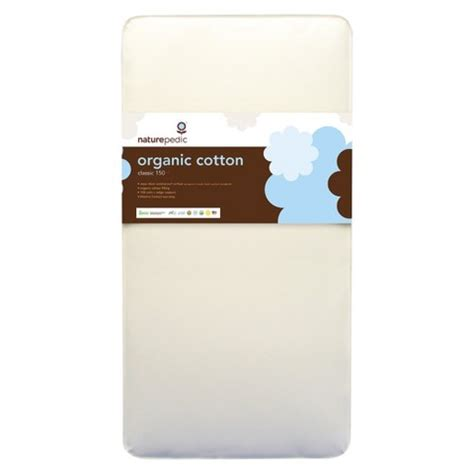 naturepedic organic cotton crib mattress target