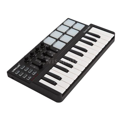 Midi Panda by Worlde Panda Mini 25 Key Usb Keyboard And Drum Pad Midi