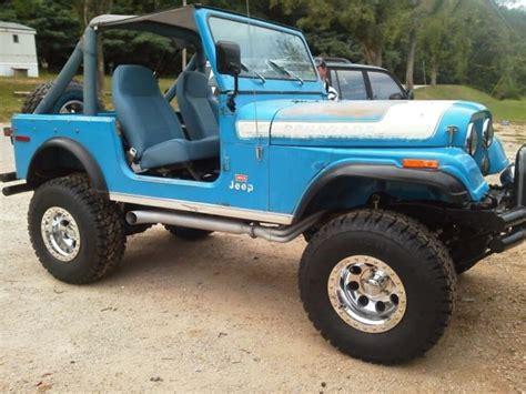jeep cj levi edition  mileage