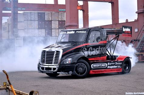 Souped Up Semi Trucks by Size Matters 2 Mike S Pikes Peak Castrol