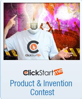 invention contest can your invention make the top 5 for the clickstartme
