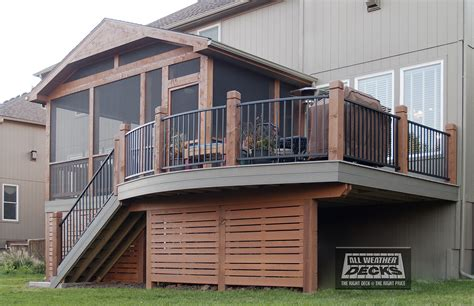 Two Story Mobile Home Floor Plans all weather decks 19 time winner of best deck builder in