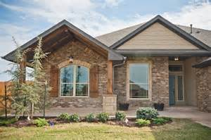 Accents traditional exterior oklahoma city by westpoint homes