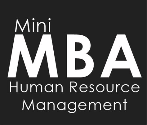 Mini Mba In by Mini Mba In Human Resources Management In Lebanon