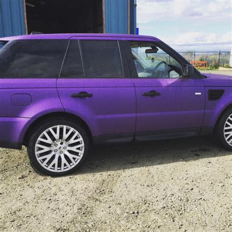 purple range rover jane park young lottery winner sells purple range rover
