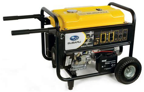 subaru s sgx generators