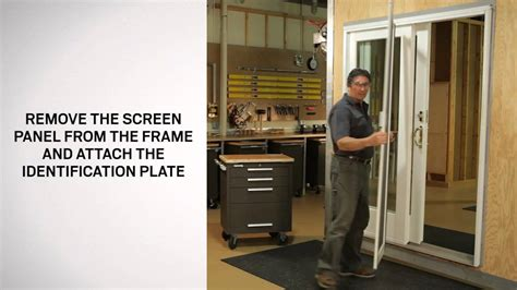 Sliding Screen Door Andersen Ps8 12 Patio In