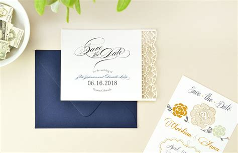Save 10 On Langleys Designs by 5 Creative Save The Date Ideas Cards Pockets Design