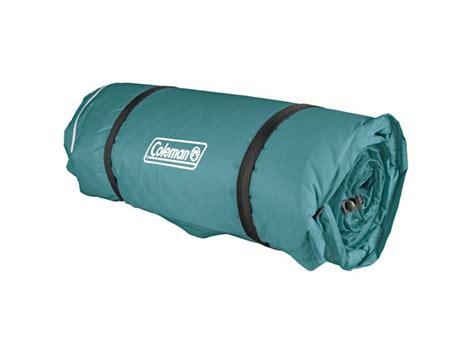 coleman 4 in 1 self inflating air mattress green