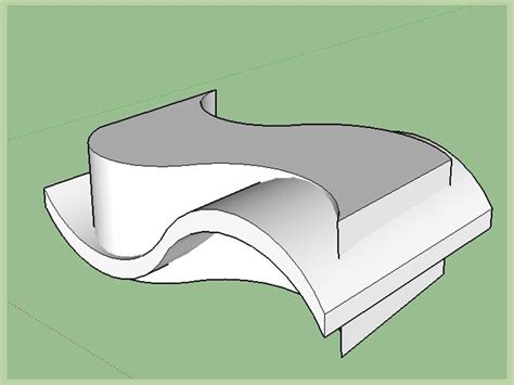 How To Draw A In Sketchup how to draw curved surfaces in sketchup 12 steps with