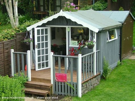 The Flower Shed by The Wee Flower Shed Workshop Studio From Garden At Home