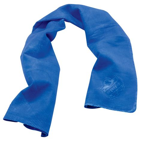 Cooling Towel ergodyne chill its 6602 evaporative cooling towel blue fullsource