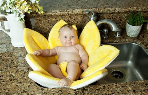 flower bathtub for baby blooming bath a flower shaped baby support for sink baths