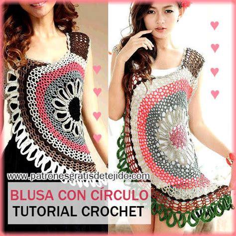blusa rosada tejida con motivos a crochet paso a paso tejidos milagros ena 17 best images about ganchillo on pinterest free pattern