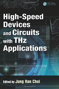 imaging technology and applications devices circuits and systems books high speed devices and circuits with thz applications