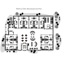 Nursing Home Layout Design Nursing Home Floor Plan Exles