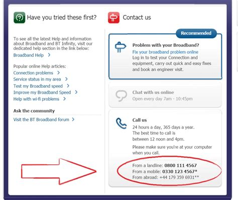 contact bt mobile bt customer service contact phone number helpline 0800