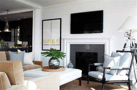 black sofa contemporary living room lda architects black and white living rooms design ideas