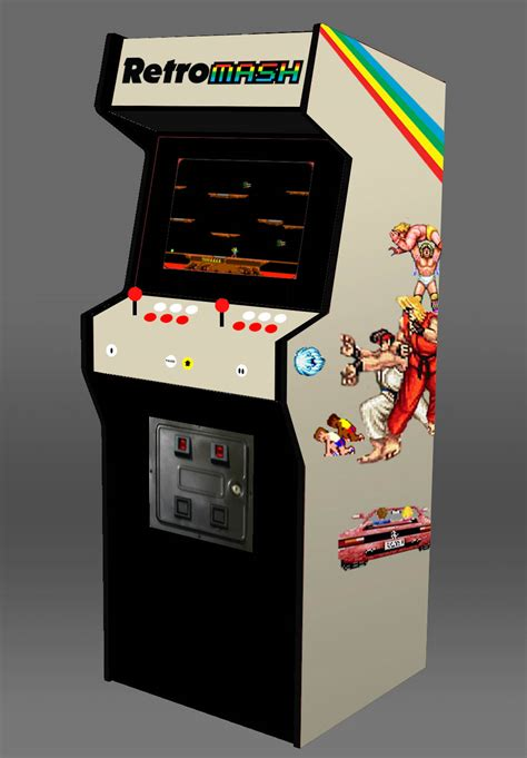 Arcade Cabinet by Building A Home Arcade Machine Cabinet Design Retromash