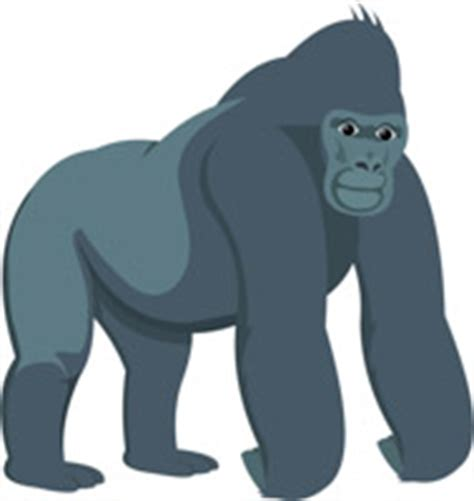 free gorilla clipart clip art pictures graphics