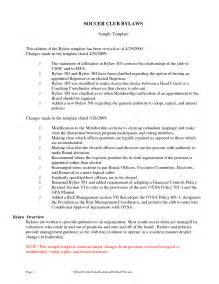 nonprofit bylaws template free best photos of one page corporate bylaws template non