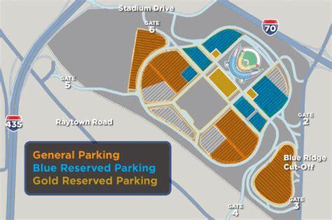 kauffman stadium directions  parking info kansas city royals