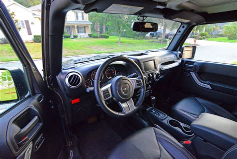 2017 jeep wrangler dashboard 2017 jeep wrangler unlimited rubicon hard rock 4 215 4 review