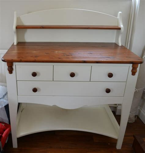changing table with drawers and shelves eurobaby baby changing table unit in white pine with