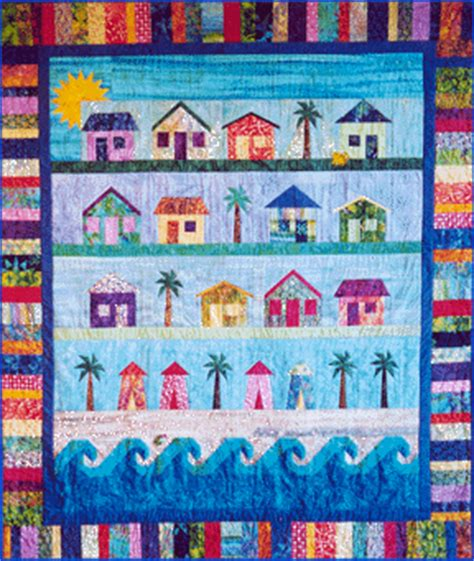 quilt pattern beach house quilt inspiration by the sea beach cottages